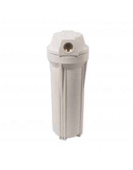 Carcaça Para Filtro Água 10 X 2,5 ROSCA De 1/2 Branca