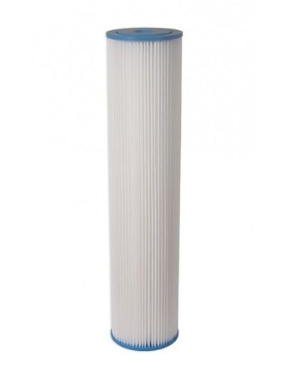 Elemento Filtrante Plissado Lavável 20 x 50 micras Big Blue