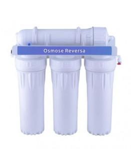 Sistema de Osmose Reversa 4 Estágios 50 GPD - Com MB 400
